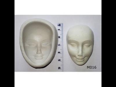 Como hacer un molde de cara.curso de cartoneria
