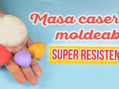 Masa casera flexible y resistente . porcelana fría casera | DREEN
