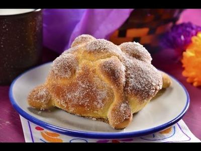 Pan de Muerto con Ralladura de Naranja | Receta Fácil