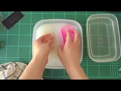 Sellos caseros con lámpara UV para uñas