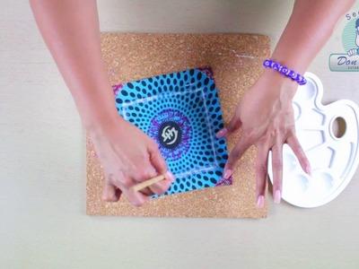 Caja de Madera con Acabado de resina