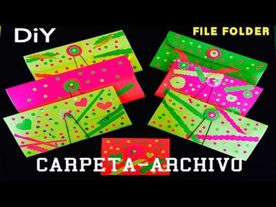 Carpeta archivador archivero de papel - Scrapbook