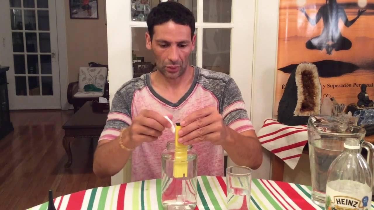 Como Hacer Oro Monoatomico Con Sal de Mar  2-2