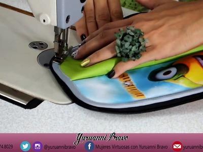 Como hacer un térmico porta botella, por yuruanni bravo