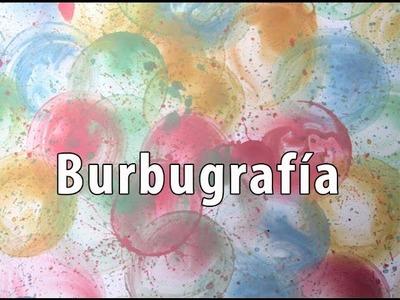 Cómo pintar con burbujas