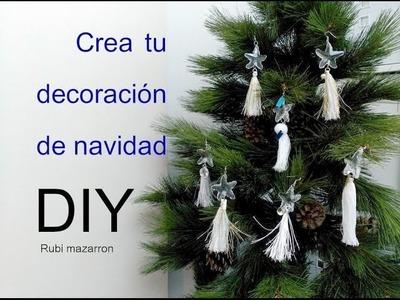 Crea tu decoración de navidad unica para el arbol