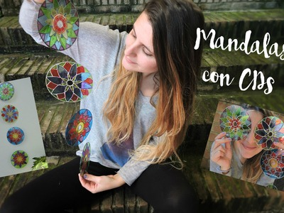 Mandalas con CDs - Mandalas with CDs
