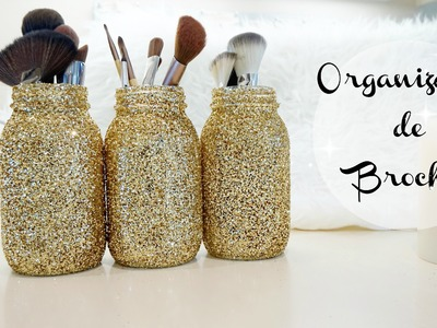 Organizador de Brochas hechas en casa Ft. Moninoxful | Doralys Britto