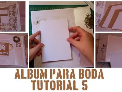 ÁLBUM PASO A PASO - TUTORIAL 5: PÁGINAS 9 Y 10
