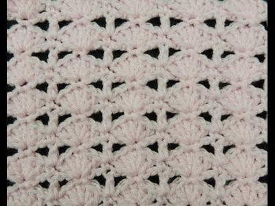 Crochet: Punto Abanico # 11