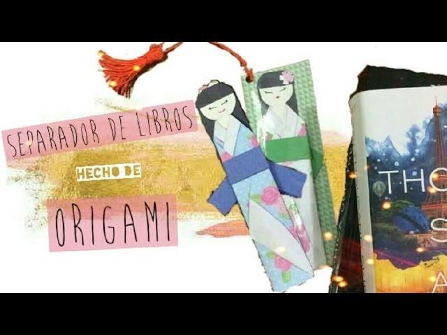 DIY Separador de Origami Súper Fácil | Orange Craft