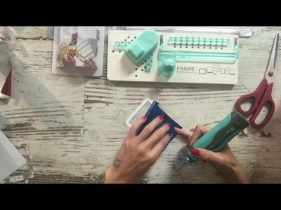 Heatwave We R y Frame Punch Board Para hacer marcos