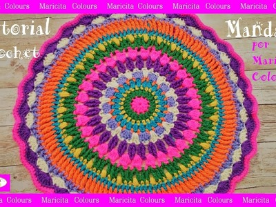 Mandala a Cochet por  Maricita Colours subtitles in English