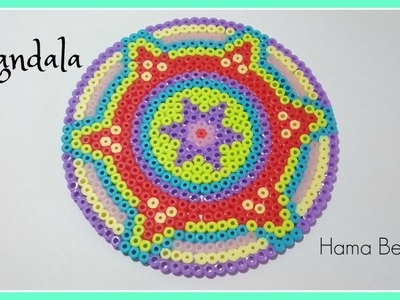☆  MANDALA  de  Hama Beads  (Perler Beads) . Zentangle Art ☆☆