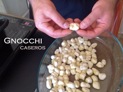 Receta de Gnocchi caseros