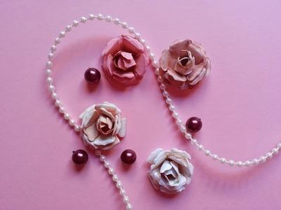 Tutorial: flores de papel I