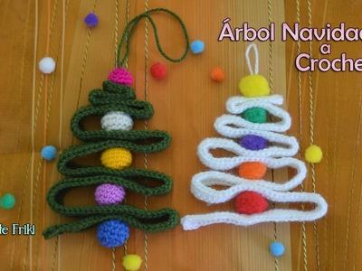 Árbol Navidad Crochet MUY FÁCIL