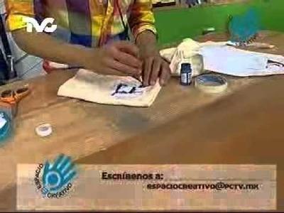 Cómo hacer secadores decorados (EC)