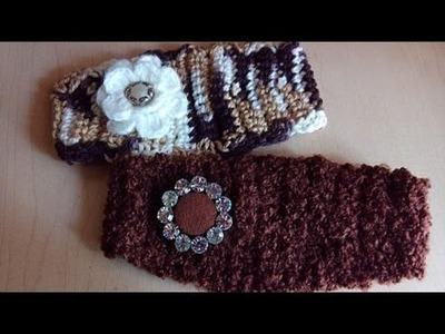 DIADEMA FACIL Y RAPIDA en crochet