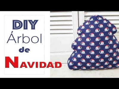 DIY ARBOL DE NAVIDAD 3D EN TELA
