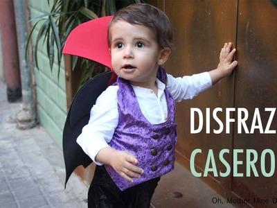 DIY Disfraz casero de DRACULA para niños