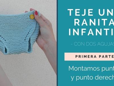 ¡TEJE UNA RANITA INFANTIL! PRIMERA PARTE