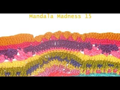 Manta Crochet mandala madness 15