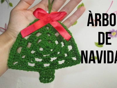 MINI Àrbol de Navidad a Crochet. Granny Triangular - Crochet Feliz