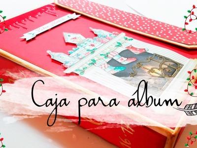 ➸  CAJA DECEMBER DAILY - ÁLBUM SCRAP || CHRISTMAS DAYKA ||  SCRAPBOOKING|| MANUALIDADES. Español
