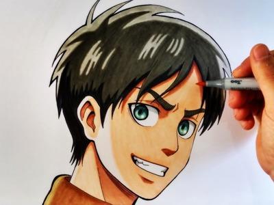 Cómo Dibujar a Eren Jaeger | Attack On Titan.Shingeki no Kyojin | ArteMaster