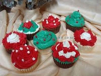 Cómo Hacer Cupcakes de Navidad con Jabón - Hogar Tv  por Juan Gonzalo Angel