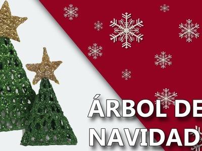 COMO HACER UN ARBOL NAVIDEÑO| Manualidades navidad 2016