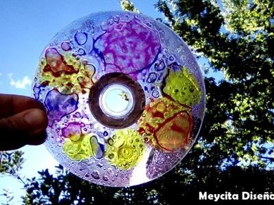 [ESPECIAL 10.000 SUSCRIPTORES] Tutorial: Cómo hacer Colgante Móvil con CD