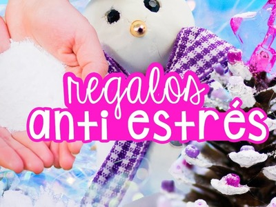 HAZ REGALOS DE NAVIDAD ANTIESTRÉS CASEROS - Nieve Falsa  ✄ Craftingeek