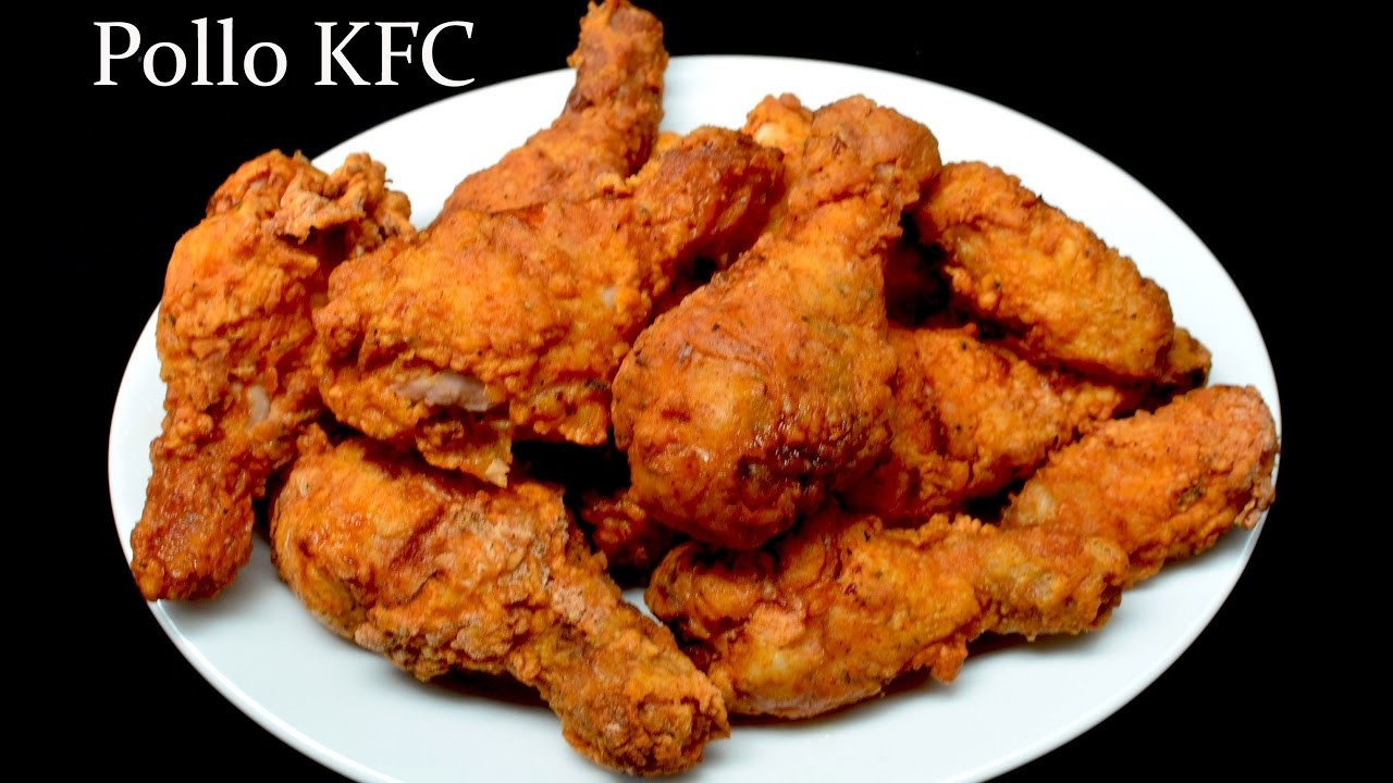 Pollo frito. Estilo KFC