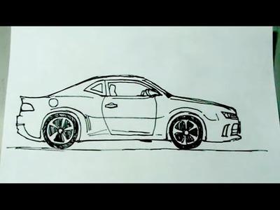 Aprende a dibujar vehículos paso a paso 1.6 - Auto deportivo