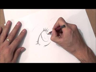 Como dibujar ojos anime | como dibujar ojos manga | paso a paso