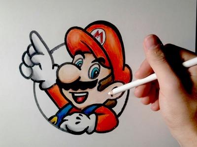 DIBUFÁCIL | Aprende a dibujar a Mario Bros (Para principiantes)