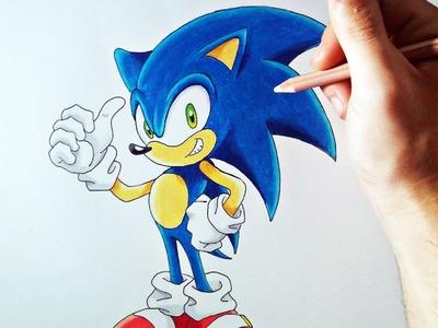 DIBUFÁCIL | Aprende a dibujar a Sonic (para principiantes) | ArteMaster
