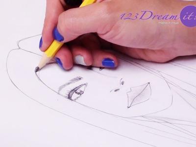 Dibuja un rostro de manera fácil