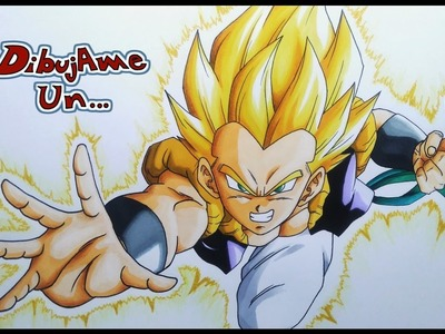 Drawing GOTENKS SSJ Dragon ball Z. SUPER | Dibujando A GOTENKS Super Saiyajin