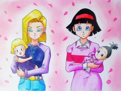 ESPECIAL FELIZ DIA MAMA | COMO DIBUJAR A VIDEL Y N18 | HOW TO DRAW VIDEL AND N 18