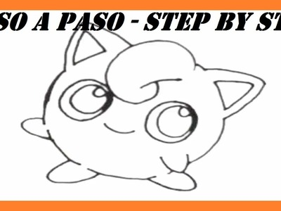 Como dibujar a Jigglypuff Pokémon l How to draw Jigglypuff Pokemon