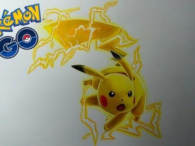 Cómo dibujar a Pikachu paso a paso   Mi primer Tutorial   PatrickART