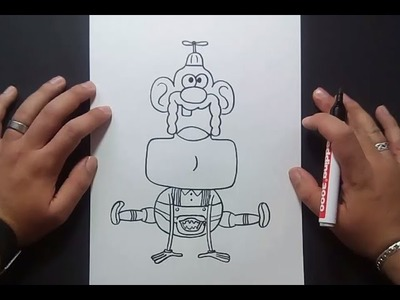 Como dibujar a Tito Yayo paso a paso 3 - Tito Yayo   How to draw Uncle Grandpa 3 - Uncle Grandpa