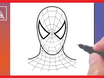Cómo Dibujar Al Hombre Araña - Drawing Spiderman | Dibujando