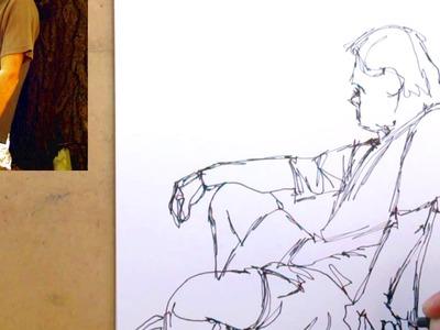 Cómo Dibujar Personas Paso a Paso: El Apunte o dibujo del natural