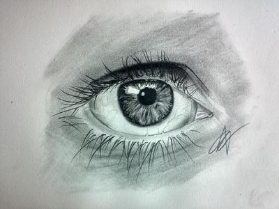 Cómo dibujar un ojo realista paso a paso