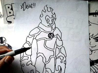 Mira Y Animate a Dibujar al ALIENS 02 de BEN 10 XDEIOS