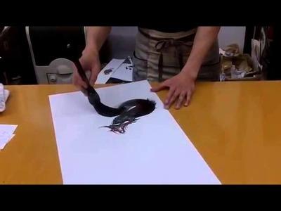 Arte Japonés: Dragón increíble!